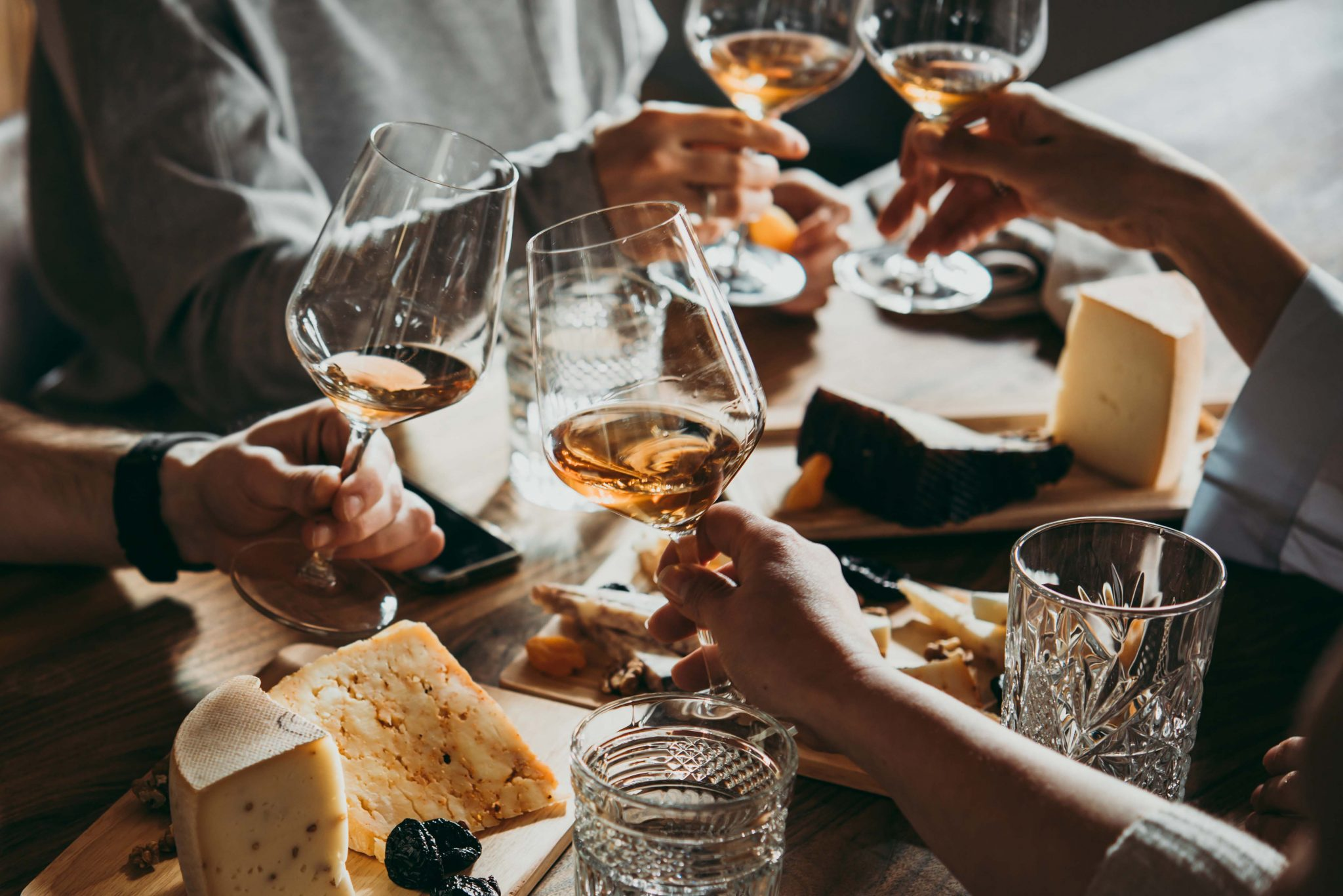 Nottingham Cheese and Wine Tasting
