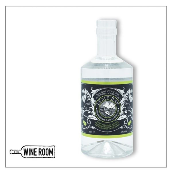 Lyme Bay Elderflower & Cucumber Gin