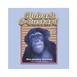 Blubarb and Custard